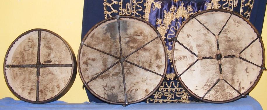 3                     shaman drum