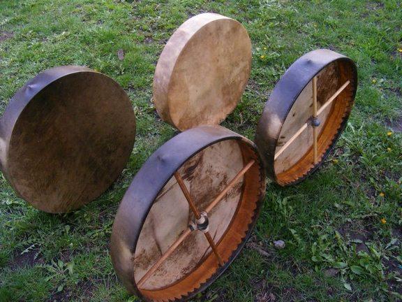4 shaman drum